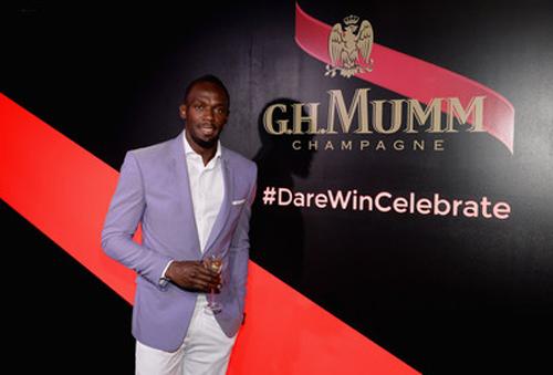 Usain Bolt Maison Mumm (CEO)