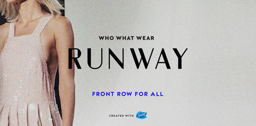 Who What Wear Runway fashion Show