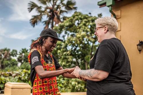 DJ Rachael from Uganda & The Black Madonna from The United States