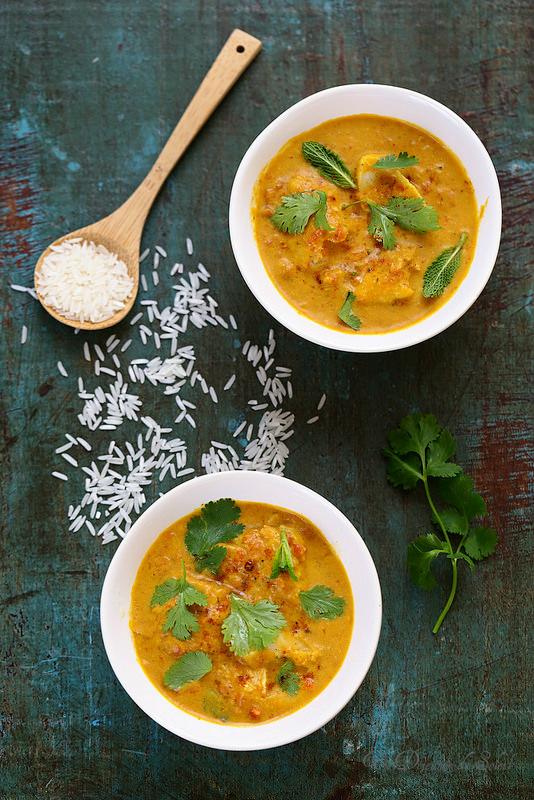 Dos De Cabillaud Au Curry : cabillaud, curry, Curry, Poisson, L'indienne, Déjeuner, Soleil