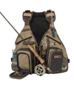 Anglatech Fly Fishing Backpack Vest Combo Chest Pack
