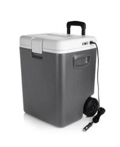 BESTEK Wheeled Electric 30 Quart Cooler and Warmer