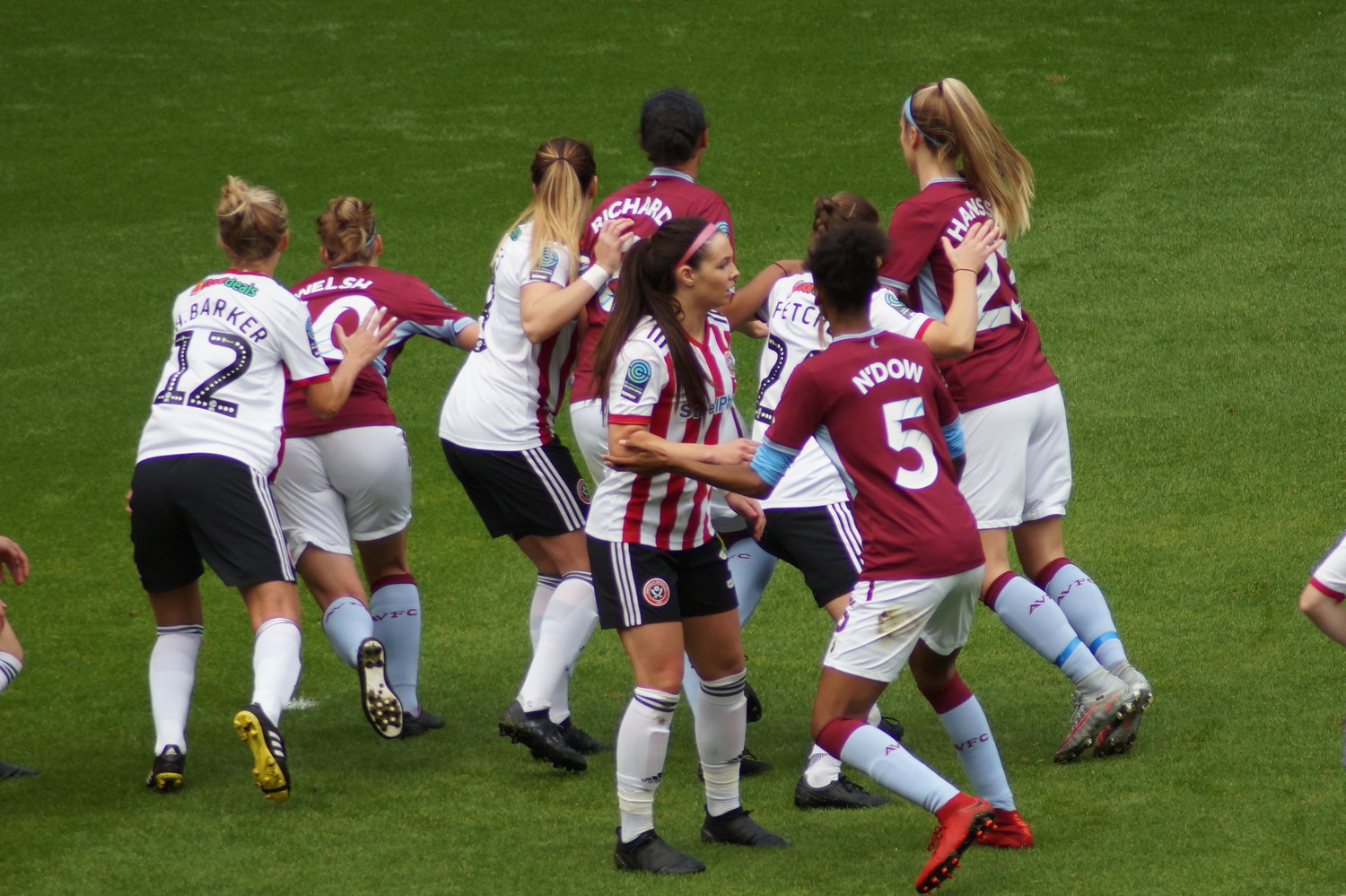 Aston Villa Ladies Sheffield United Women