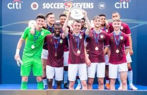 Aston Villa Youth Players Bag Main Plate Trophy in Hong Kong