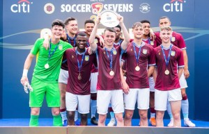 Aston Villa Youth Players Bag Main Plate Trophy in Hong Kong