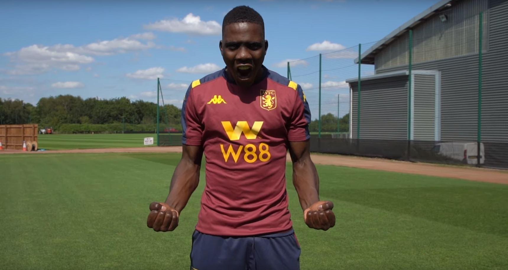Marvelous Nakamba Aston Villa