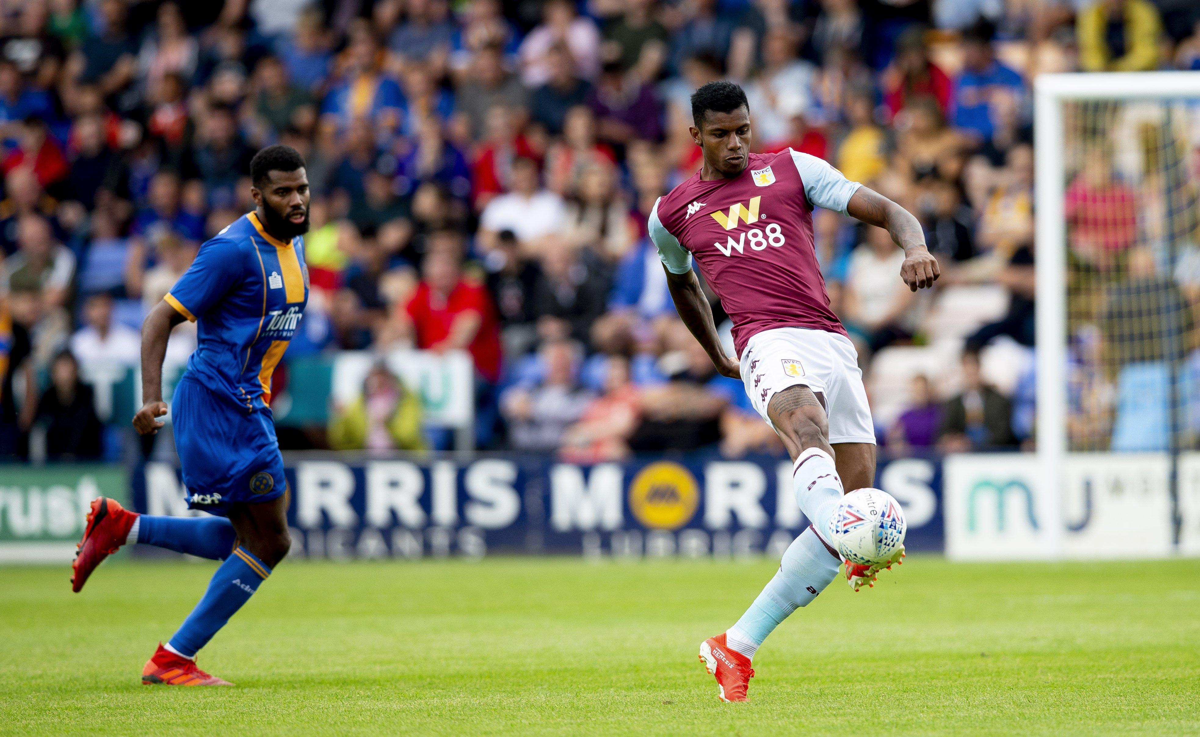 Wesley Moraes Shrewsbury Town