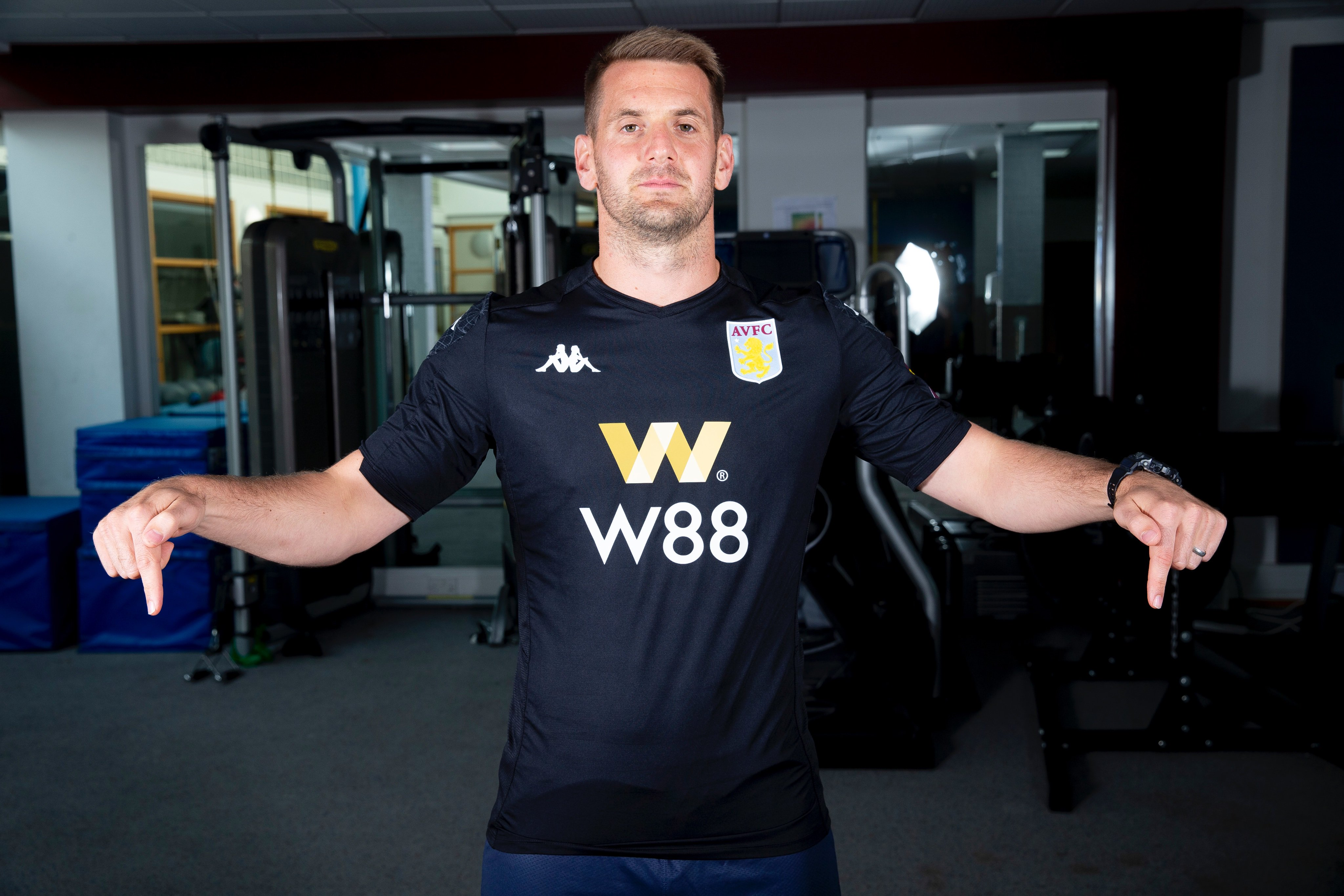 Tom Heaton Joins Aston Villa Under A Gaslit Lamp