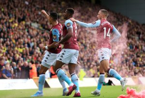 High Five as Aston Villa Maul Canaries at Carrow Road