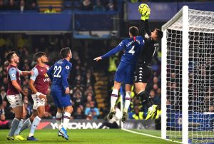 Aston Villa sub-par as Chelsea dominate at home