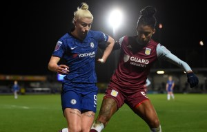 Villa Women are valiant in cup defeat against Super League Chelsea