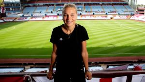 Great Dane! Stine Larsen signs for Aston Villa Women