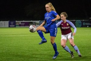 Aston Villa Women top Conti Cup group following Rogers penalty heroics