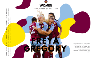 Our Women's Young Player of the Season: Freya Gregory