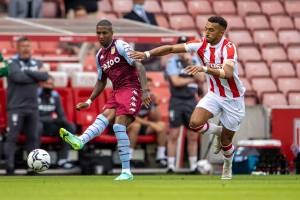 Stoke smash-and-grab against Villa as Wesley sees red