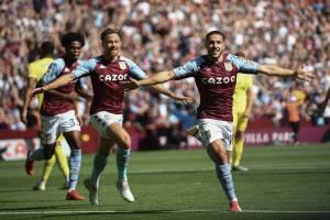 Aston Villa draw against Brentford as Buendia opens account