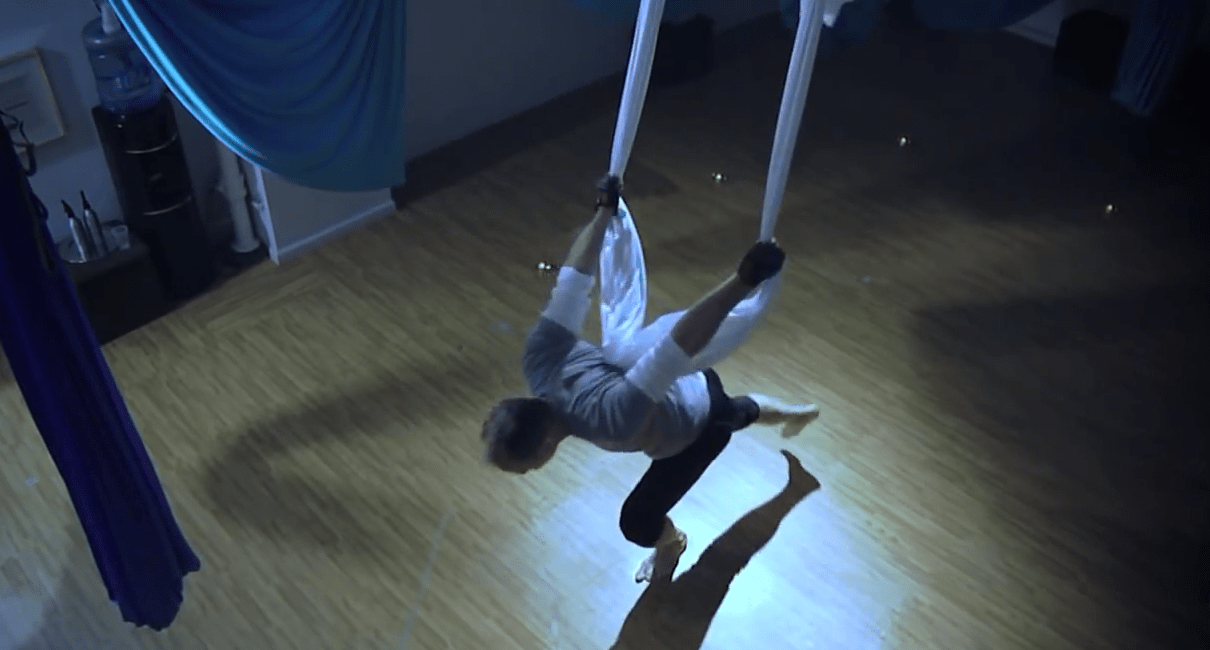 AntiGravity Fitness, Aerial Yoga, Christopher Harrison