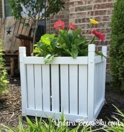 wood planter box [ 2025 x 2039 Pixel ]