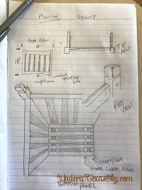 small resolution of wood planter box