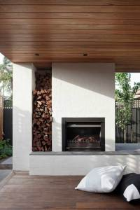 Outdoor Fireplaces: Heating it up outside at home