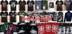 Rebel In Print - Undercover Festival Official Merch Supplier
