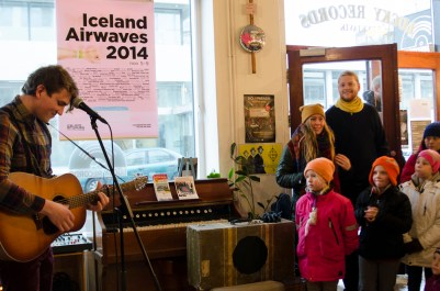 Axel Flóvent, iceland airwaves 2014, Off venue, lucky records