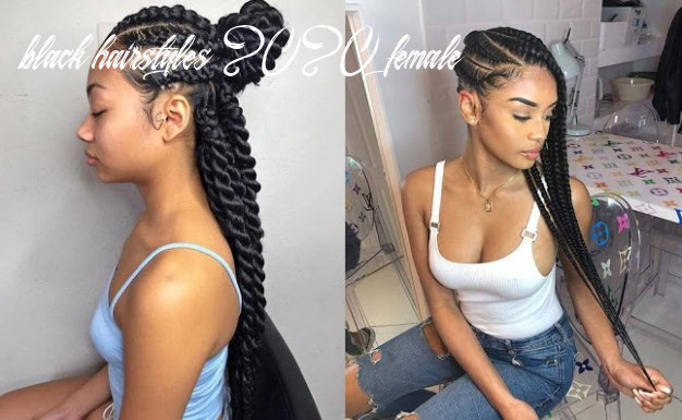 10+ Trendy Cornrows Braids Hairstyles For Black Women To Copy In ...
