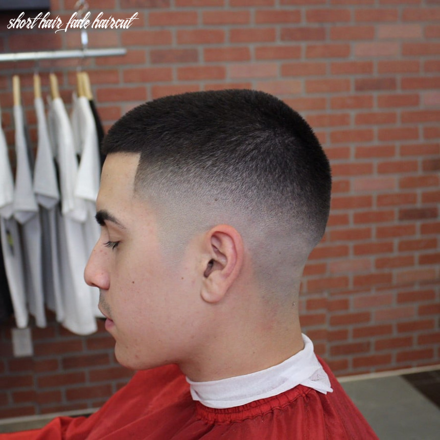 11 Mid Fade With Short Hair