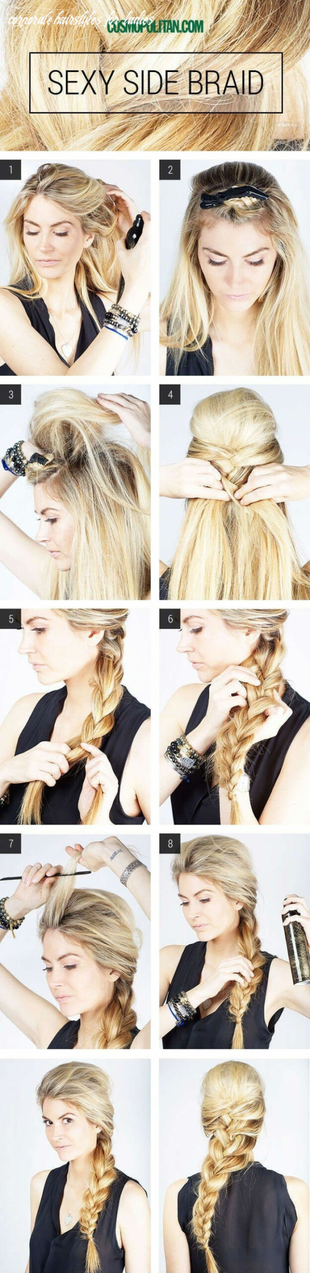 11 Simple Office Hairstyles for Women: You Have To See - PoPular ...