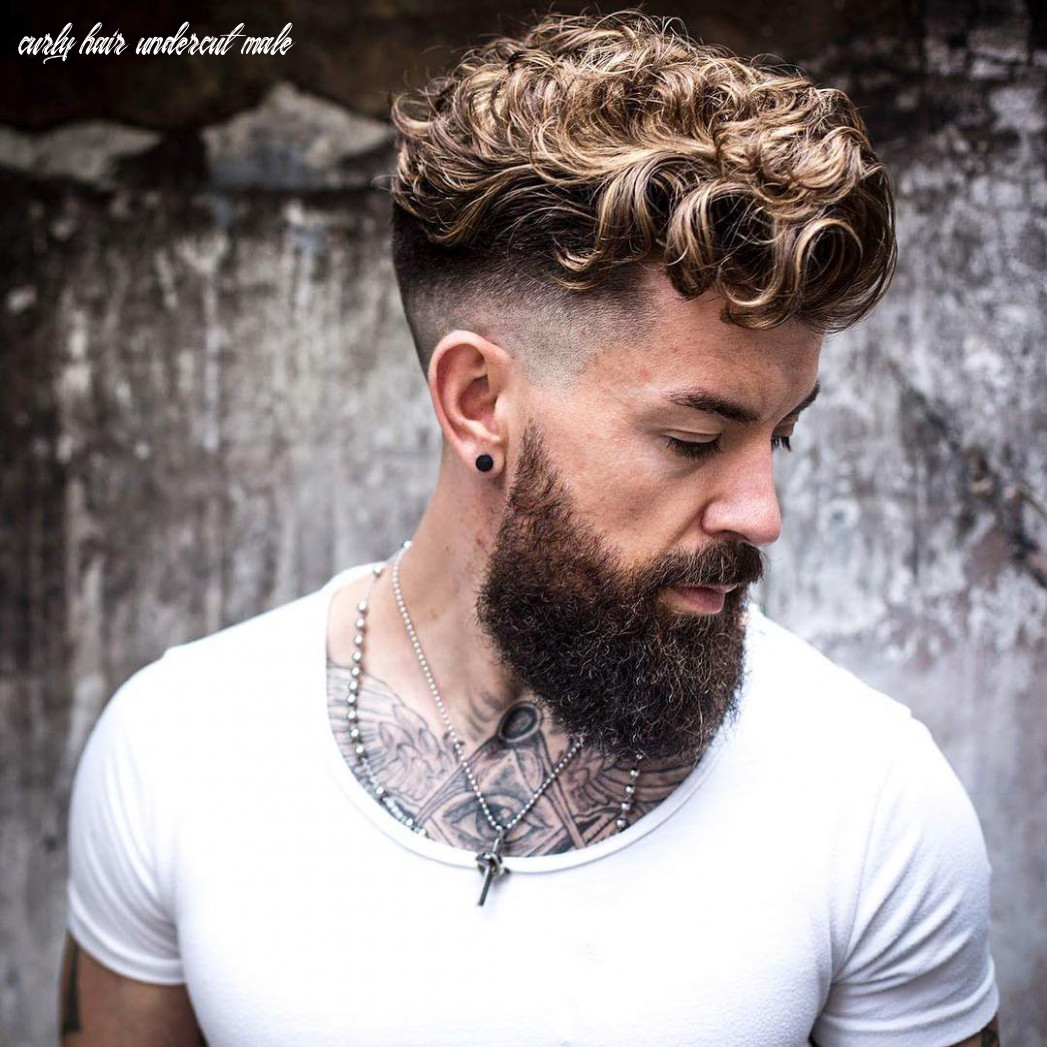 8 Trendy Men Haircuts For Naturally Curly Hair - Styleoholic