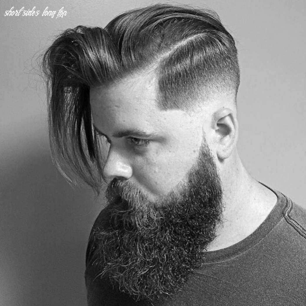 9 Creative Short On Sides Long On Top Haircuts-[9 Ideas]