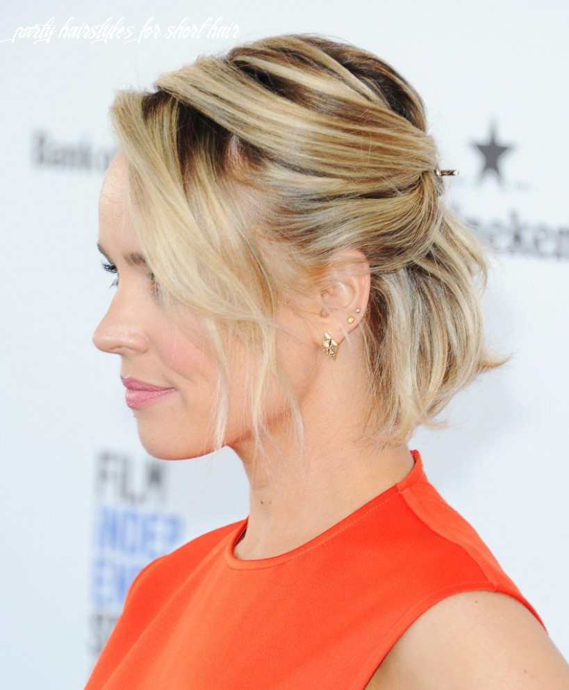 9 formal hairstyles for short hair to rock this party season