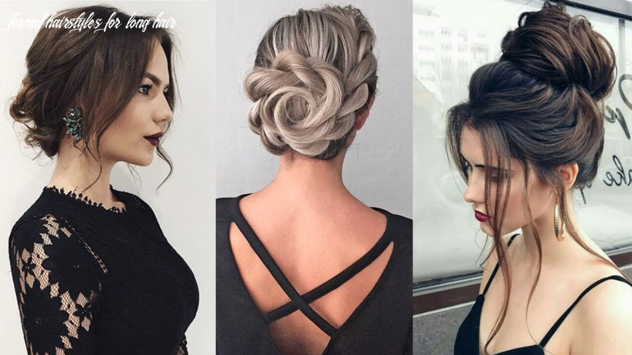 Formal UPDOS for Long Hair | Prom & Wedding Hairstyles