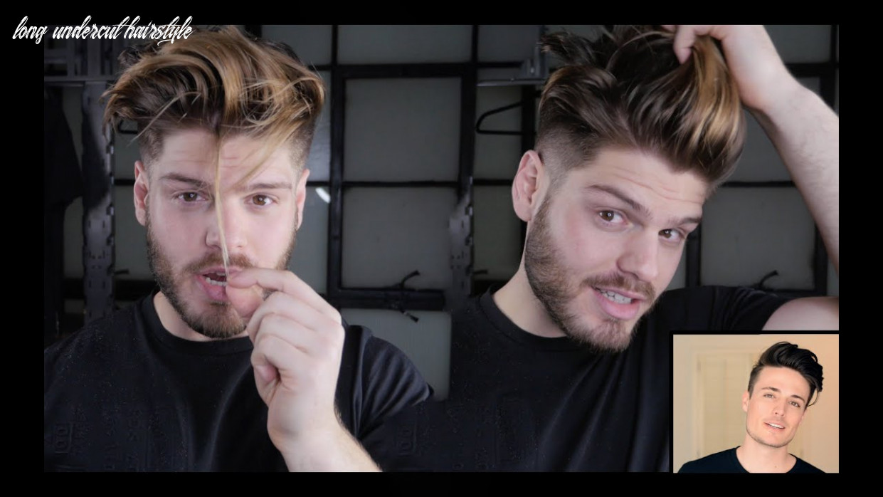 Mens Hair Transformation   Long Hair to Faded Undercut Ft. Anthony Deluca