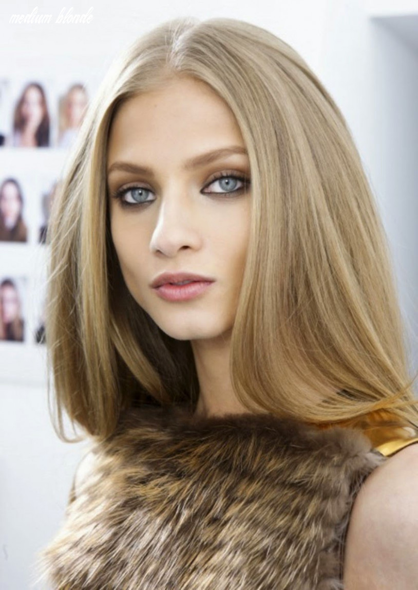 Perfection Hairstyles: Inspiration on Medium Blonde Hair Color ...