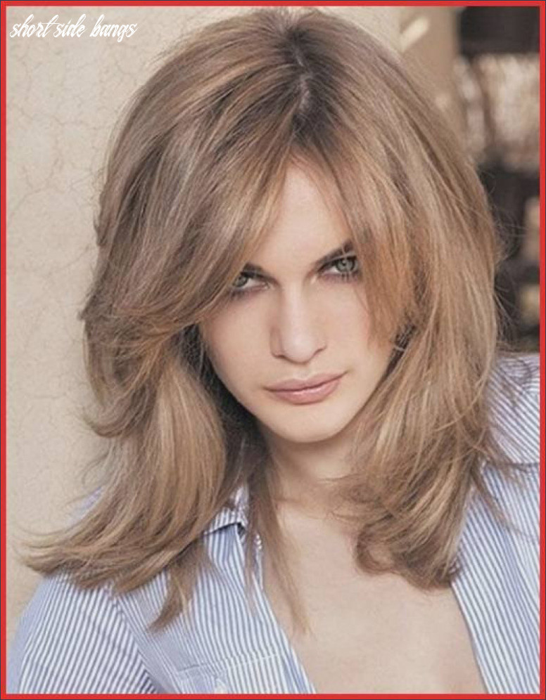 Short Hairstyles with Side Bangs and Layers Inspirational 8 ...