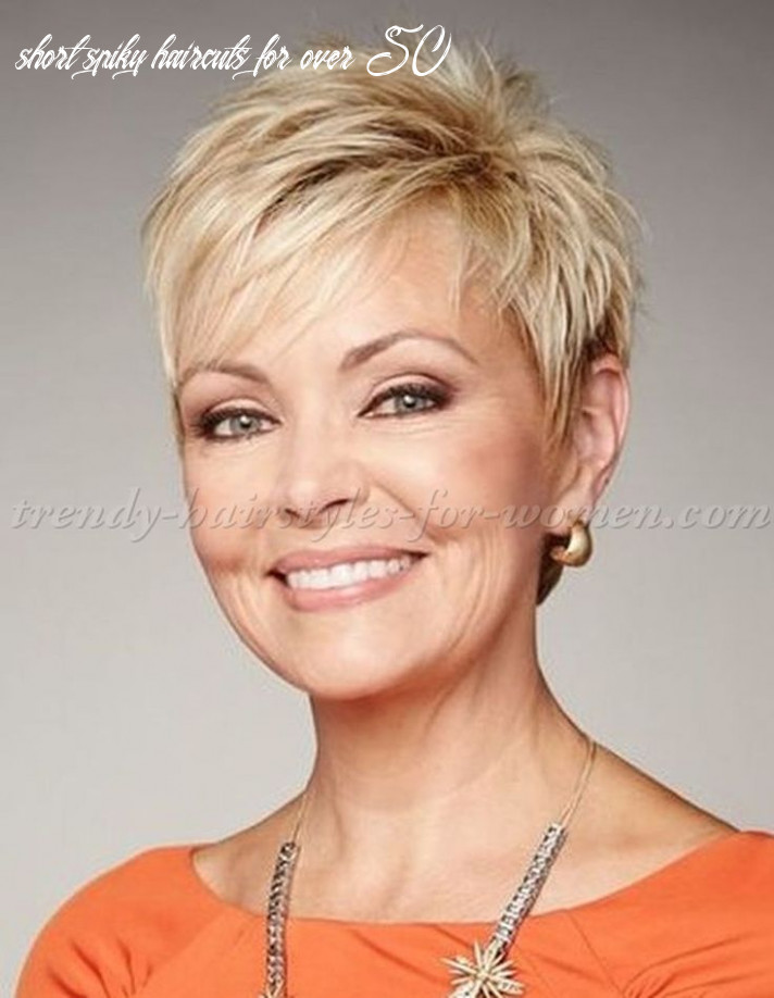 Short Spiky Hairstyles For Women Over 8 - The Look for Less