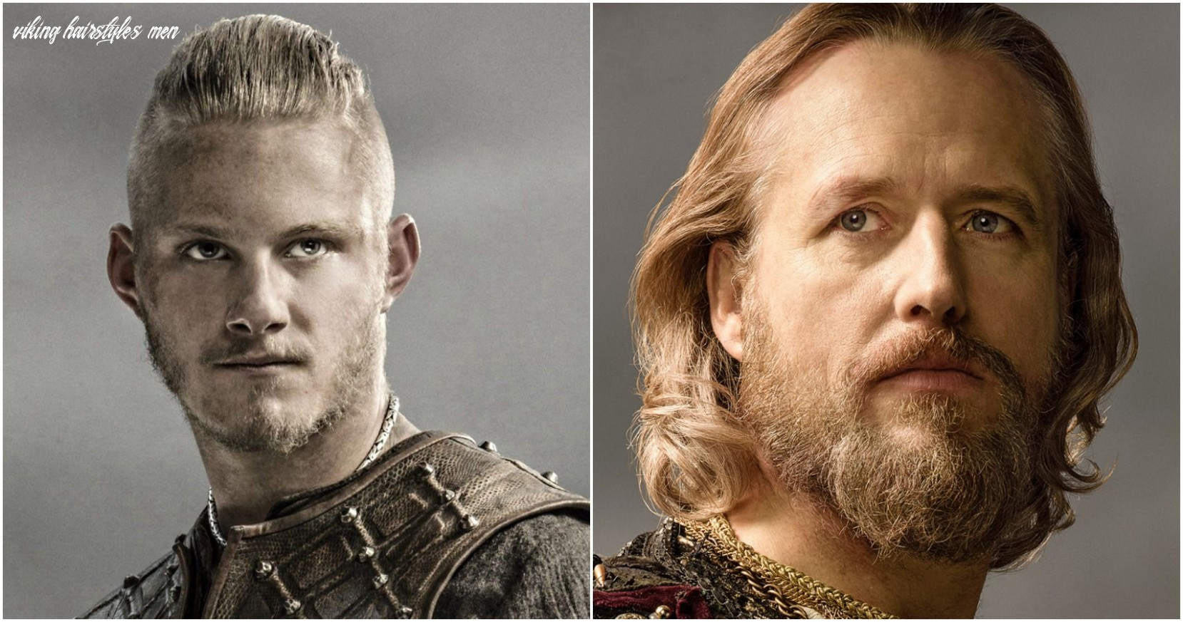 Vikings: 10 Coolest Hairstyles For Men | ScreenRant