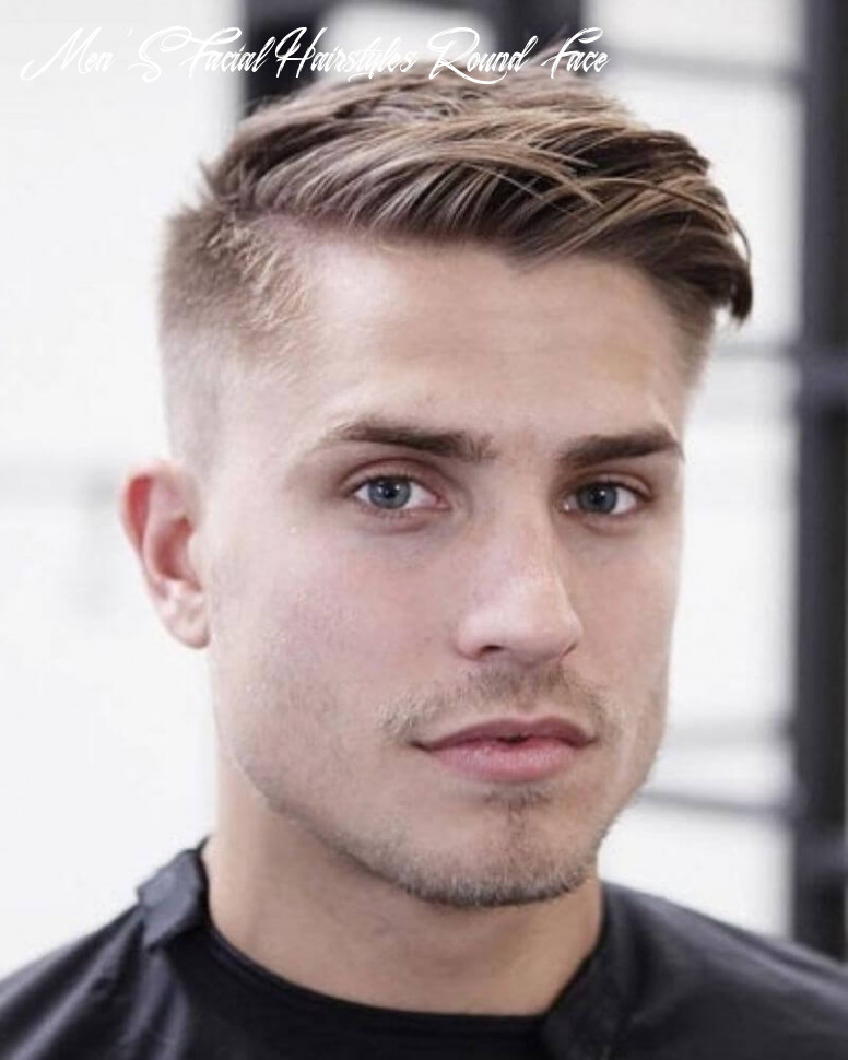 10 Stylish Hairstyles For Men Having Thick Hair And Round Face ...