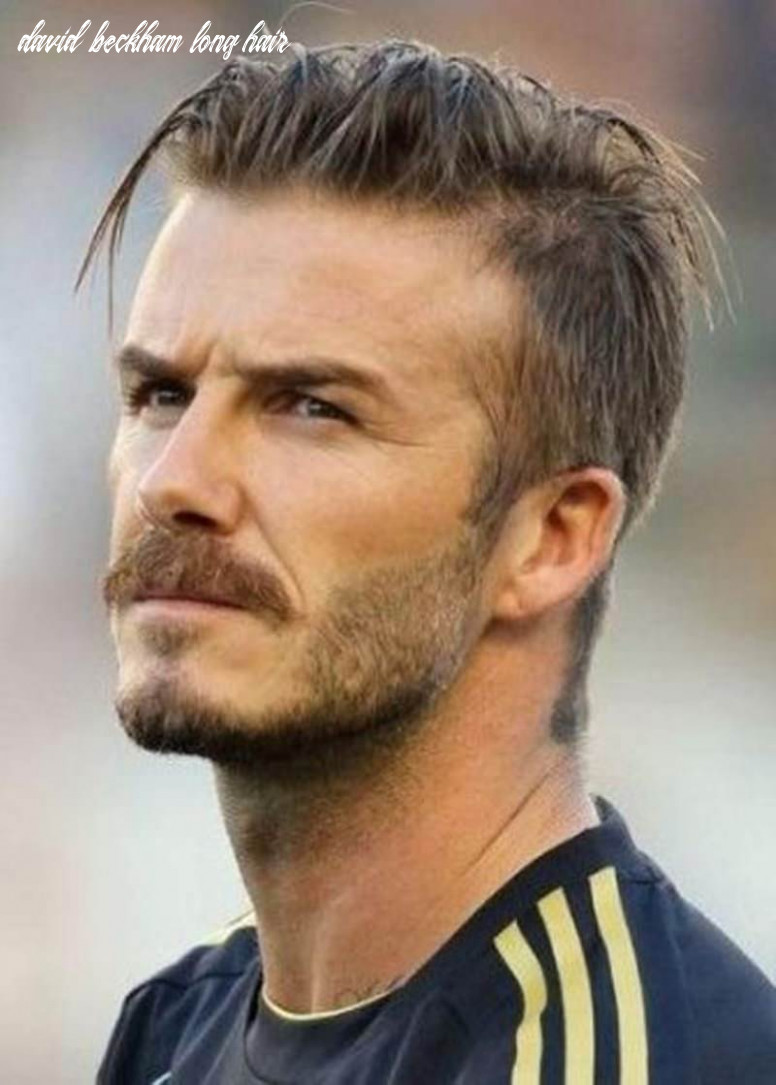 10 Super Cool David Beckham Hairstyles Over The Years.