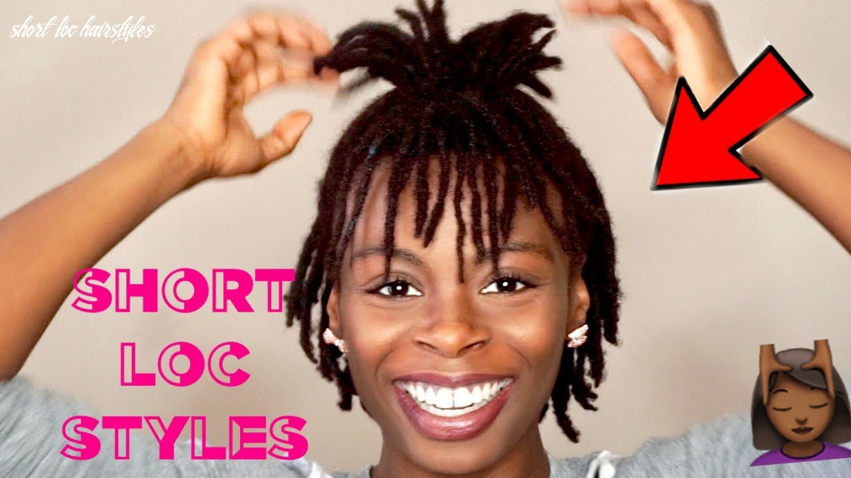 11 SHORT EASY LOC STYLES ??   Cute Hairstyles For Short Dreads ✨    #DarrenceTV
