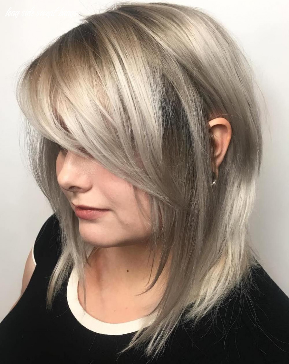 11 Side-Swept Bangs to Sweep You off Your Feet | Medium length ...