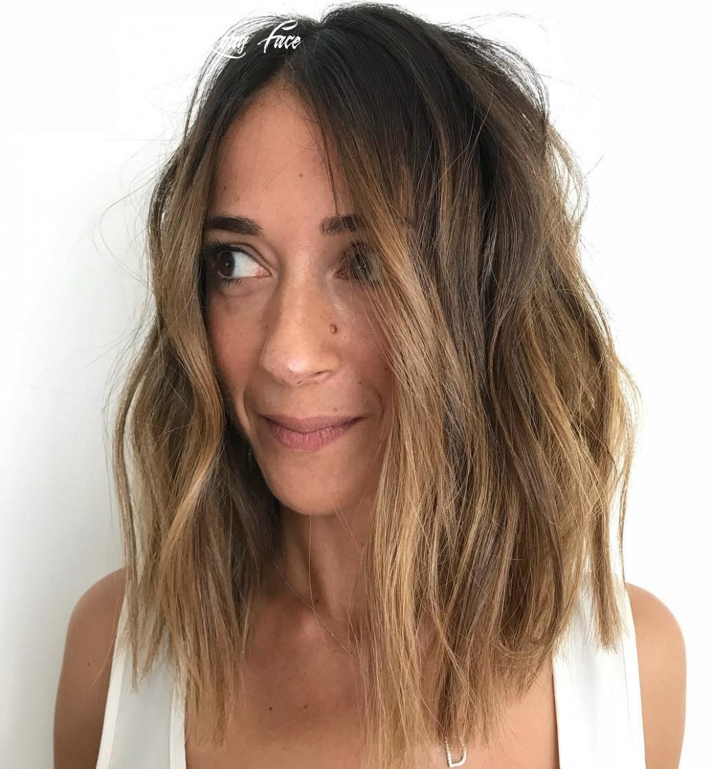 12 Best Haircuts for Long Faces in 12 - Hair Adviser