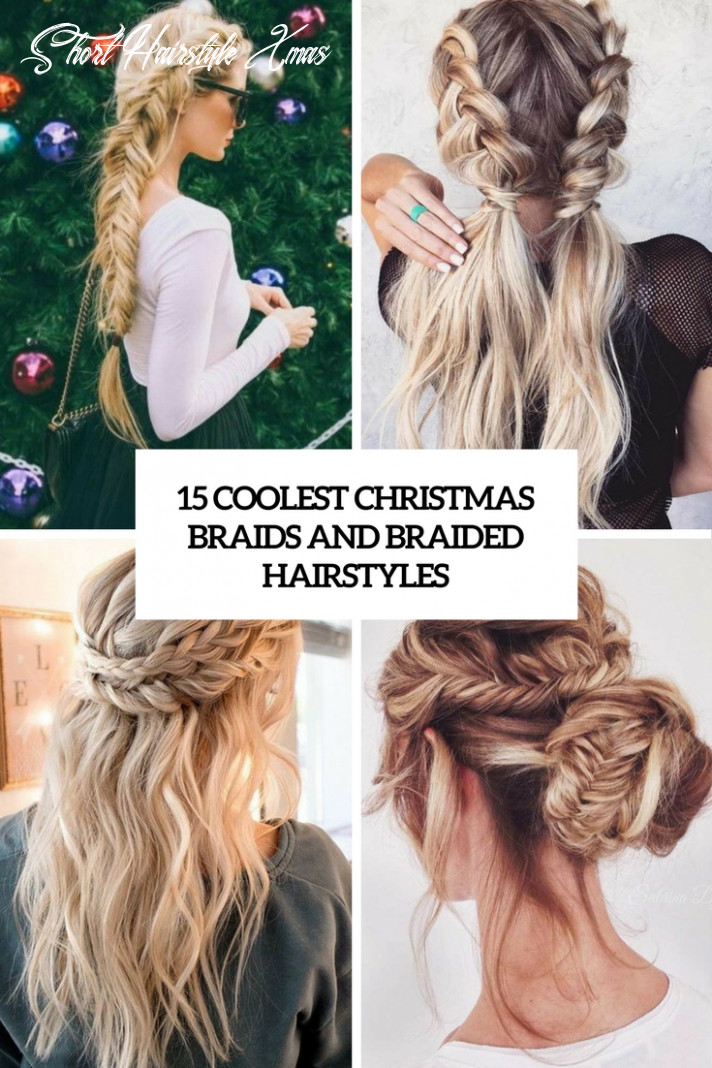 12 Coolest Christmas Braids And Braided Hairstyles - Styleoholic