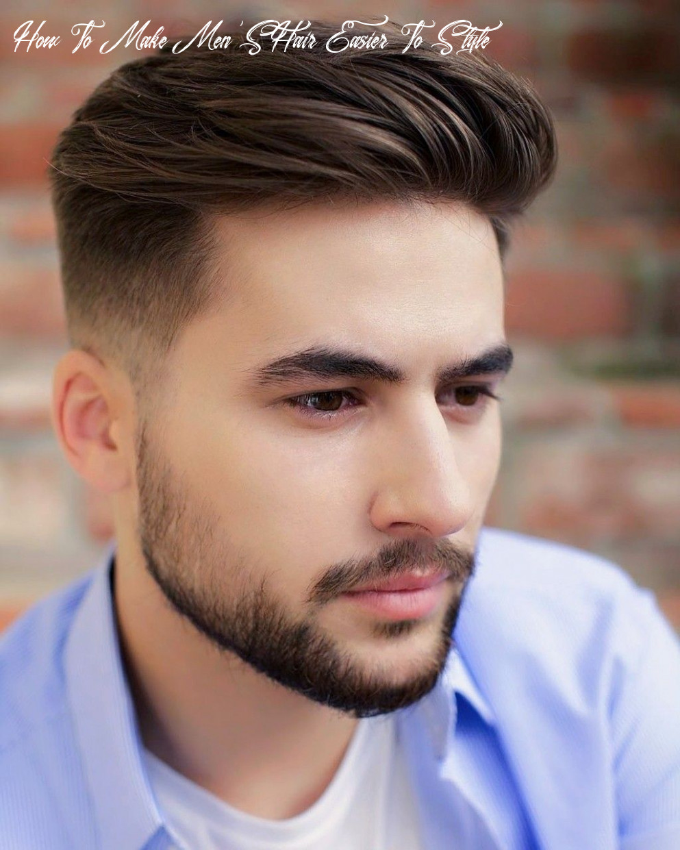 12 Easy Men's Haircuts & Hairstyles for Work and Play   Mens ...