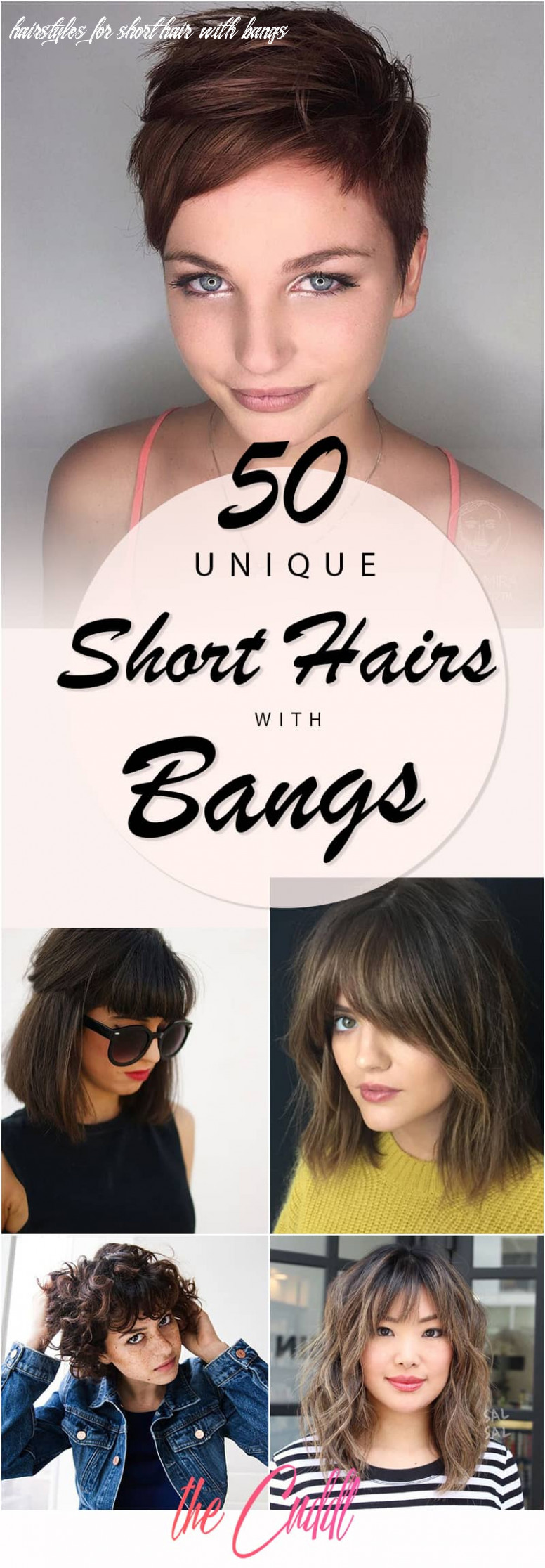 12 Ways to Wear Short Hair with Bangs for a Fresh New Look