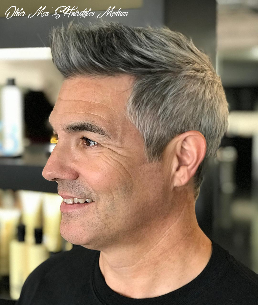 8+ Cool Hairstyles + Haircuts For Older Men (8 Update)