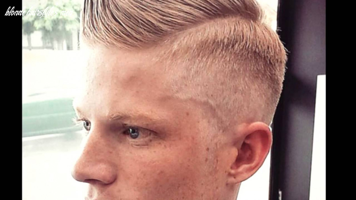 8 Hairstyles for Blonde Hair for Men