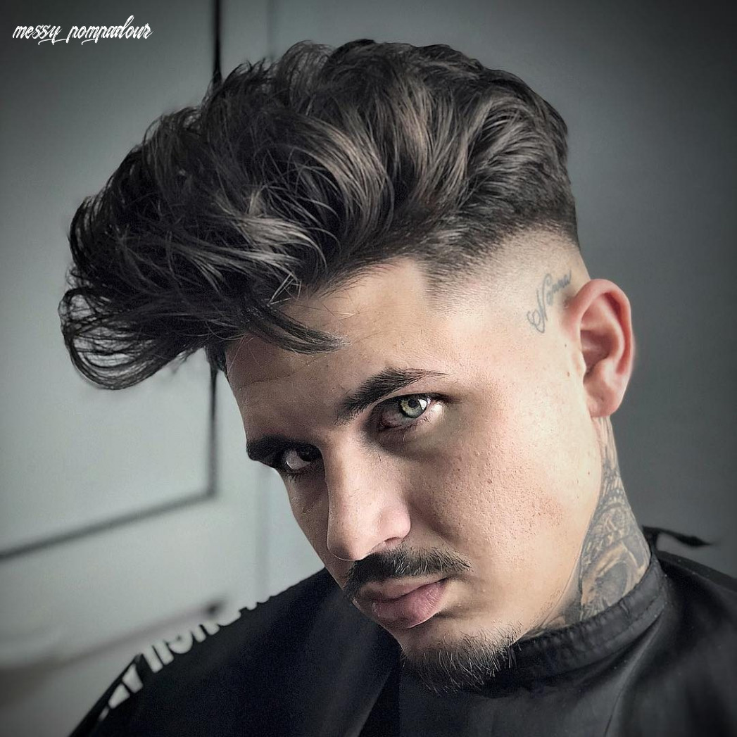 8 Pompadour Haircuts For 8 (Totally Cool Styles)
