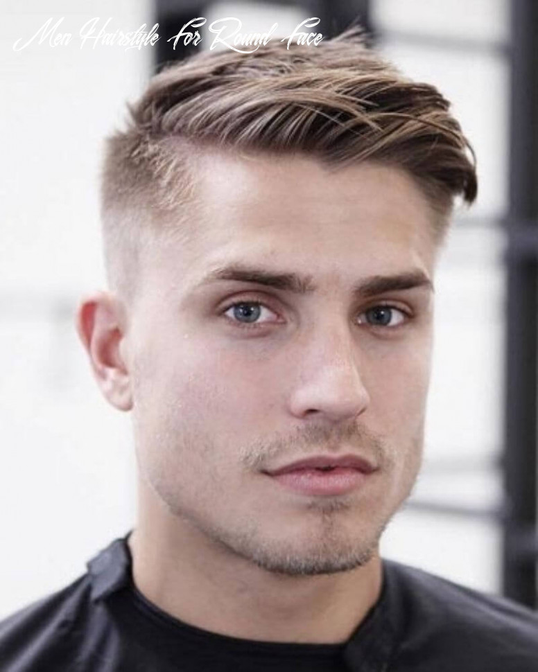 8 Stylish Hairstyles For Men Having Thick Hair And Round Face ...